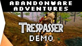 Trespasser ► Free Game Demo & Jurassic Park Gameplay! - [Abandonware Adventures]
