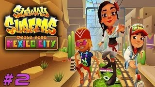 Subway Surfers: Mexico City - Samsung Galaxy S3 Gameplay #2