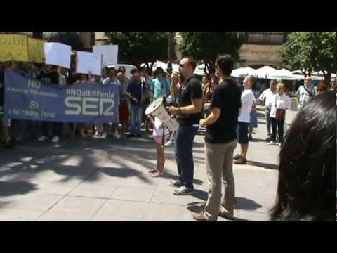 Cadena SER - Radio Córdoba en huelga contra el nuevo ERE - (29.06.2012)