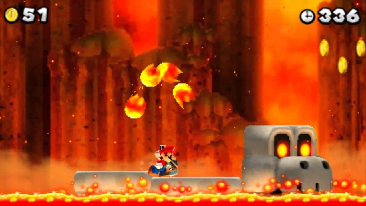 New Super Mario Bros  2 - 100% Walkthrough - World 6 / Final Boss (All Star  Coins & Secret Exits)