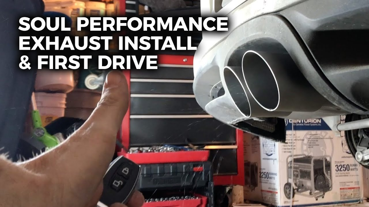 soul performance products valved exhaust install first drive 981 cayman