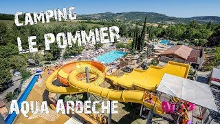 ZOTTE GLIJBANEN IN CAMPING LE POMMIER - Aqua' Ardèche - Familie Meerschaert