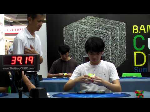 5x5 52.18 Single &  1:05.65 Official Average / Final Round @ Bangkok Cube Day Summer 2018