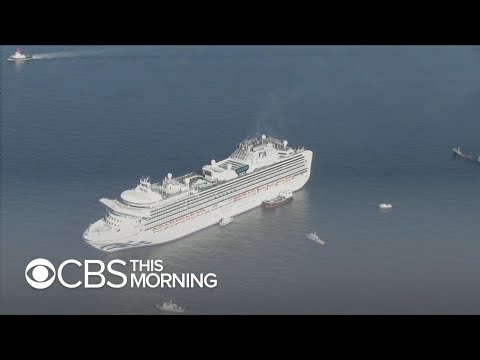 Inside A Coronavirus Quarantined Cruise Ship