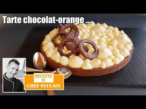tarte-chocolat-orange---recette-gourmande-par-chef-sylvain-!