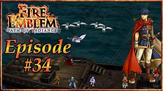 Fire Emblem: Path Of Radiance - Supports At Sea, A Guiding Wind - Episode 34