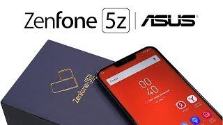 Распаковка ASUS Zenfone 5Z рядом с Galaxy S9, Huawei P20 Pro, Xiaomi Mi Mix 2S и iPhone X