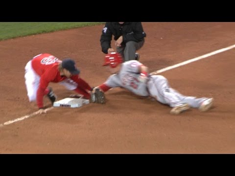 Trout confident of replay after crafty slide