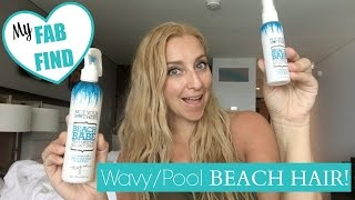 My Affordable FAB FIND for Easy, Wavy Pool/Beach Hair!