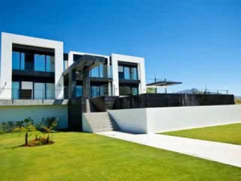 Construction of new build contemporary villa in La Alqueria, Marbella, Spain