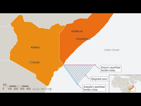 Why is Kenya disputing Somali water?