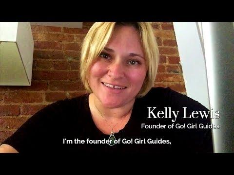 Met ZafigoX Speaker, Founder of Go! Girl Guides, Kelly Lewis