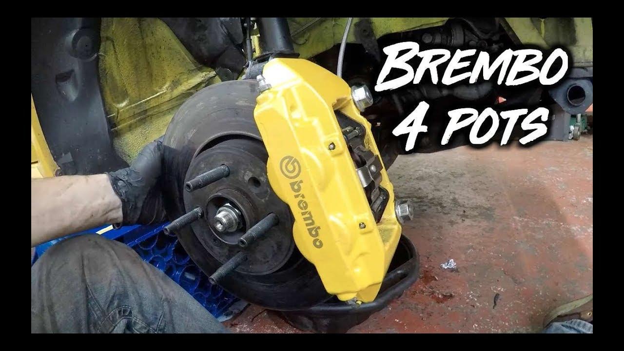 Renault Clio 182 172 Big Brake Upgrade Conversion Brembo Caliper Adapters 197