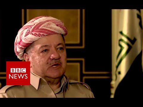 Iraqi Kurds 'prepared to draw own borders', Barzani warns Baghdad - BBC News