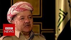 Iraqi Kurds 'prepared to draw own borders', Barzani warns Baghdad - BBC News