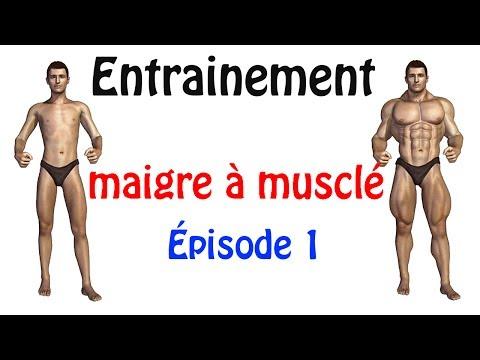 Musculation du MAIGRE qui veut devenir musclé ! Épisode 1/3 ksCoaching