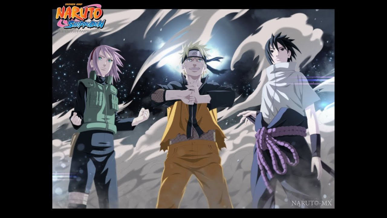 naruto shippuuden team 7 reunites youtube. Black Bedroom Furniture Sets. Home Design Ideas