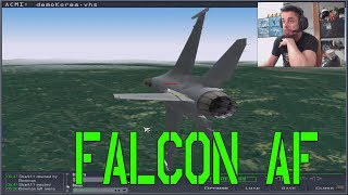 Falcon 4 0 Allied Force Gameplay 2018 - Cuanto ha cambiado Falcon - Nvidia GTX 1070
