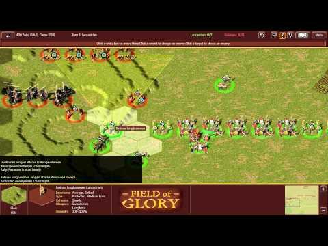 Field of Glory Digitial League   Match 1