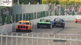 Posterholt Raceway 13-08-2017 Saloon Stockcar 4de Manche (9'05)