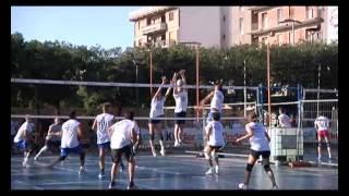 28-07-2012: Servizio Telenorba Notte Bianca del Volley 2012