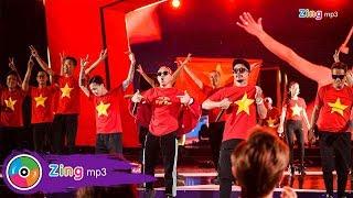 [ZMA - 2017]   PB Nation nhuộm đỏ sân khấu Zing Music Awards cố vũ cho U23 Việt Nam