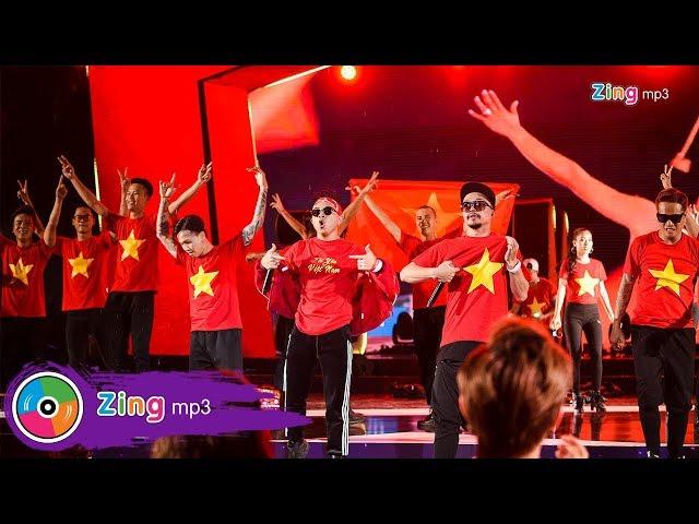 [ZMA - 2017] | PB Nation nhuộm đỏ sân khấu Zing Music Awards cố vũ cho U23 Việt Nam