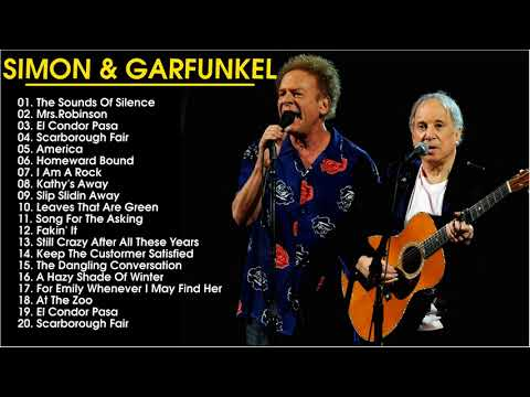 Simon & Garfunkel  Greatest Hits- Top Best Songs Of Simon & Garfunke