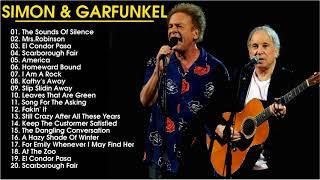 Simon & Garfunkel  Greatest Hits- Top Best Songs Of Simon & Garfunke