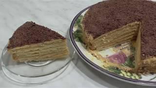 ТОРТ МИКАДО – ОЧЕНЬ вкусный домашний торт !