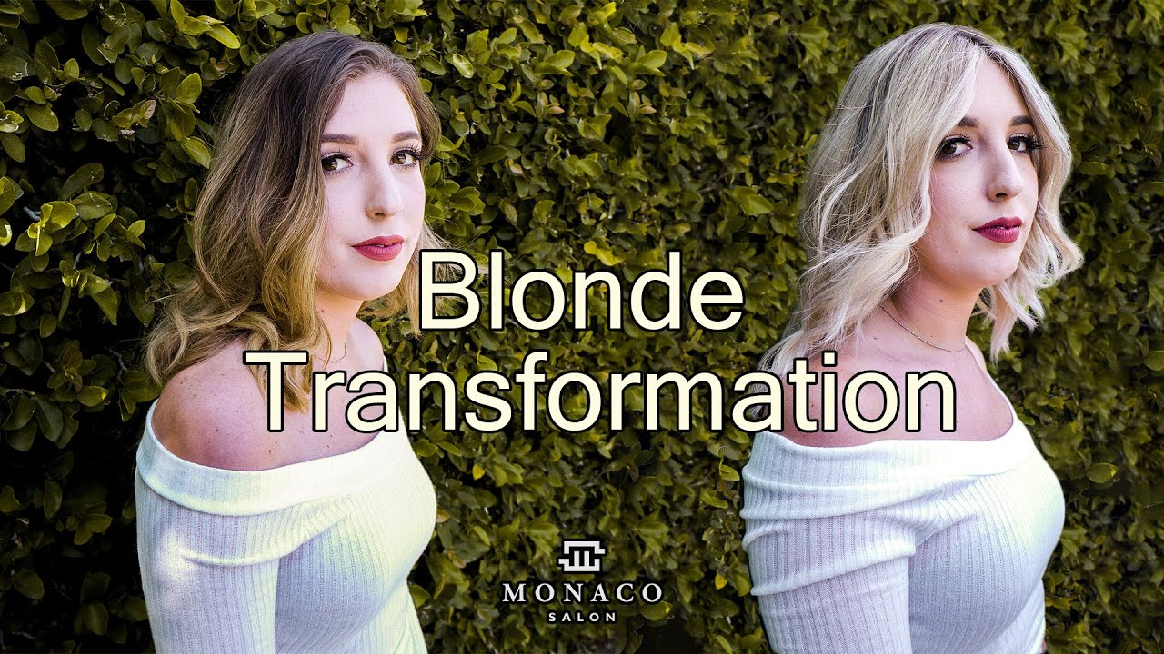 Blonde Transformation | Monaco Salon