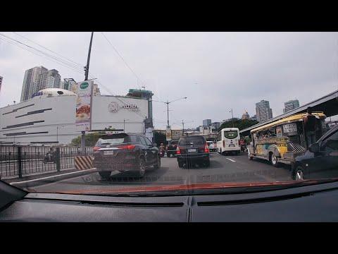 Manila 4K - Cuasay Road - C5 - McKinley Parkway - Downtown!