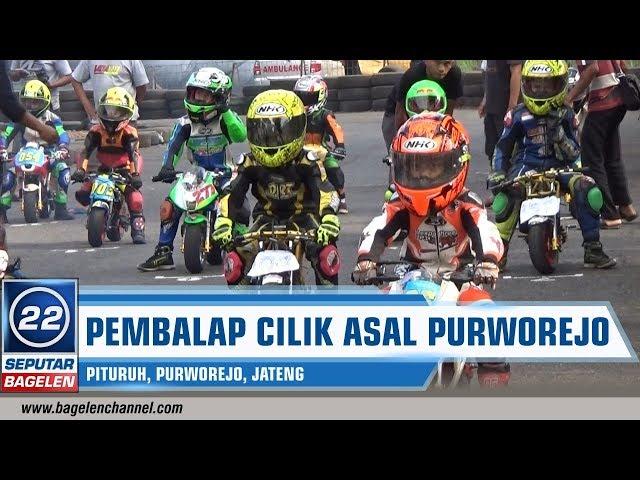 Pembalap Cilik Asal Purworejo Berharap Bisa Saingi Marquez