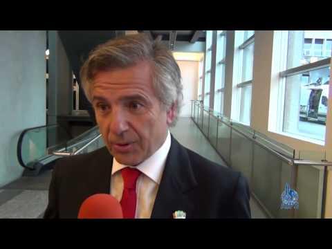 Interview with IOC member Juan Antonio Samaranch