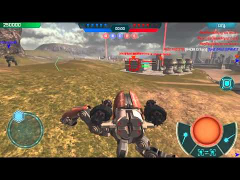 WWR[walking war robots] - test sever android new robots!!