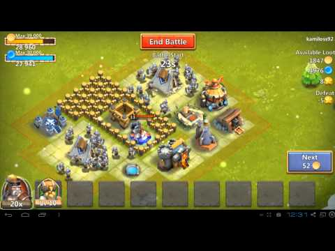 Castle Clash -  How To Guide - Starting On A New Account - Part 1