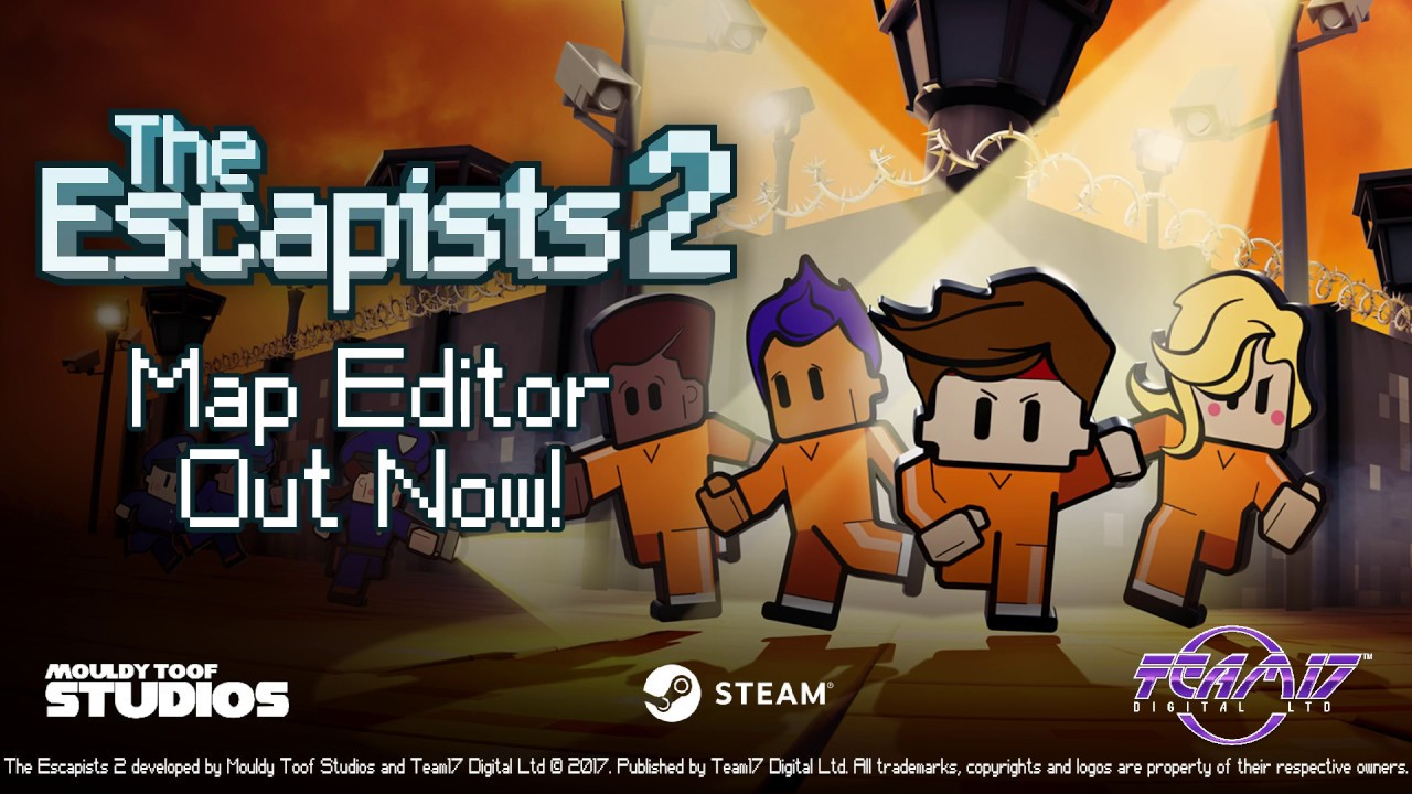 The Escapists 2 - Prison Map Editor is now available as a free
