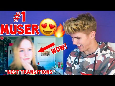 REACTING TO FREJA RENSTROM *BEST* MUSICAL.LY COMPILATION (INSANE TRANSITIONS) MUST WATCH 2018