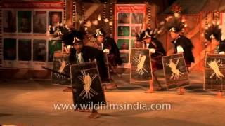 Adi Minyong Tapu war dance from Arunachal Pradesh