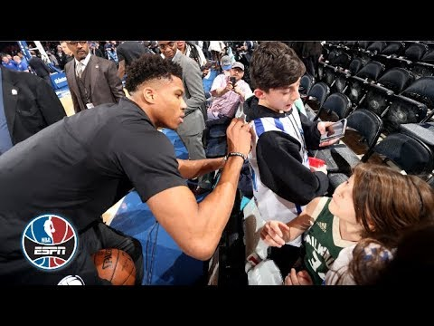 Giannis Antetokounmpo's special relationship with New York City's Greek fans | NBA Countdown