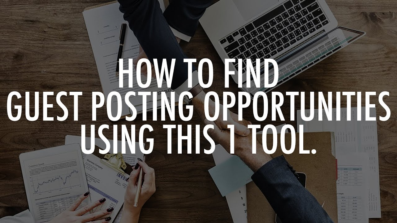 How to find guest post opportunities for niche affiliate websites | Leon  Angus