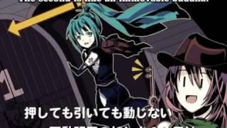 【Hatsune Miku, Megurine Luka】 Masterkey Gunman and Masterkey Ninja ~English~【Vocaloid PV】