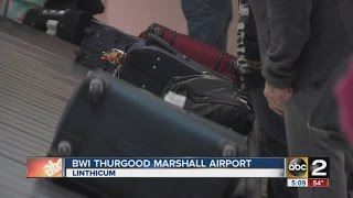 Bag handlers picket over lost luggage at BWI
