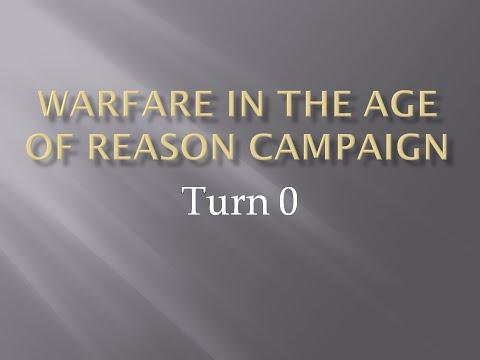 Warfare in the Age of Reason Campaign: Turn 0; Seven Years War Miniature Wargaming