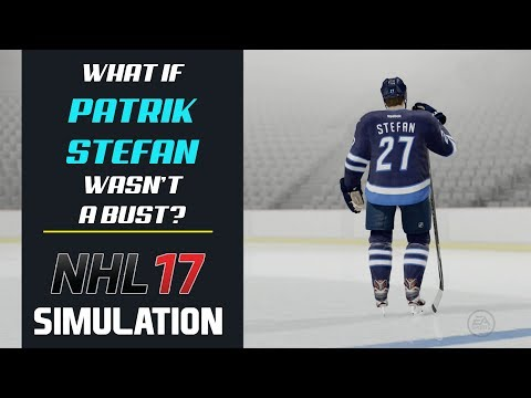 What If Patrik Stefan Wasn't A Bust In The NHL? | NHL 17 Simulation
