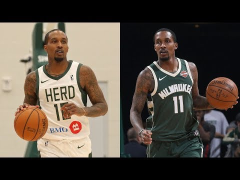 Brandon Jennings Highlights With Wisconsin Herd & Milwaukee Bucks