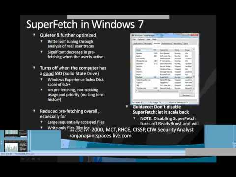 Microsoft Windows 7 - Performance Enhancements by Ranjana Jain