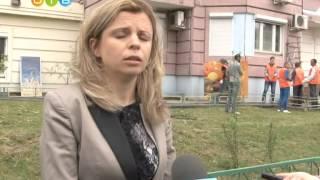 Ряд незаконных рекламных конструкций демонтировали с фасада жилых домов в микрорайоне Новая Трехгорк(, 2015-07-10T18:02:32.000Z)