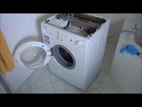 Fabulous Waschmaschine stinkt beim Wasserziehen nach sch.... - YouTube TU94