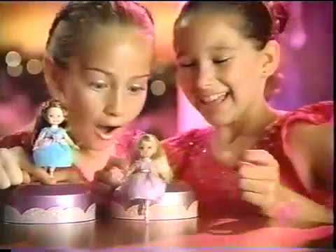 2006 Barbie In The 12 Dancing Princesses Sisters Commercial